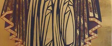 Jasolslawl Ikone Detail des Faltenwurfs